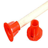 Mop Socket Plastic Red