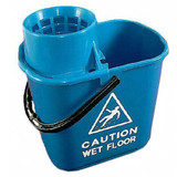 Mop Bucket & Wringer Blue