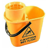 Mop Bucket & Wringer Yellow