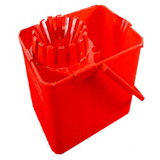 Vileda Mop Bucket Red