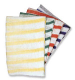Dishcloths Striped Yellow