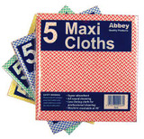 Maxi Weight Cloths Yellow