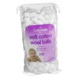Cotton Wool Balls - 200 Pack