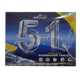Astonish 5-in-1 Dishwasher Tablets - Pack of 100