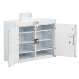 Drug & Medicine Cabinet - 6 Shelves/5 Door