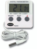 Twin Reading Electric Fridge/Freezer Thermometer