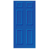 Door Decal - Blue