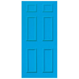 Door Decal - Light Blue
