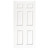 Door Decal - White