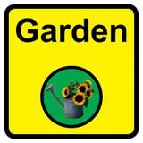 Garden sign - 300mm x 300mm