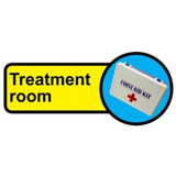 Treatment Room sign - 480mm x 210mm
