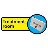 Treatment Room sign - 480mm x 210mm