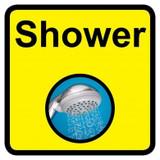 Shower sign - 300mm x 300mm