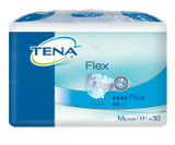 TENA Flex Plus Belted Incontinence Pads - Medium