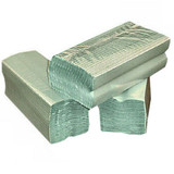 C-Fold Hand Towels 1 Ply Green