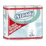 Nicky Elite Toilet Rolls 3 Ply White