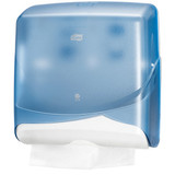 Z-Fold Hand Towel Dispenser Blue Marathon Small