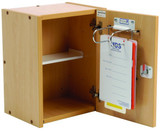 Drug & Medicine Cabinet - 325 x 245 x 420mm - Wooden