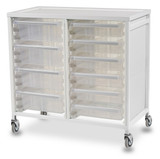 Tray Trolley - Double Column