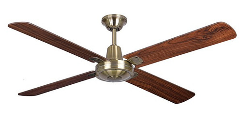 "MAXair Timber 52"" - Antique Brass/Walnut Blades"