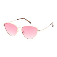 emma cat eye-gold/pink