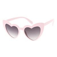 Kids Heart Sunglass-Pink