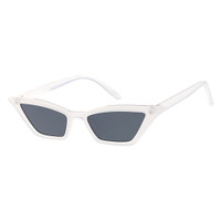 Dixie Plastic Cateye-White