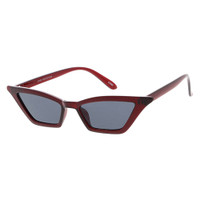 Dixie Plastic Cateye-Red