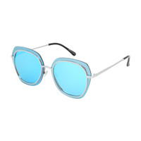 Ariella Metal Sunglass- Blue