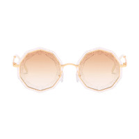 ROSE sparkle plastic sunglass