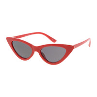 RUBY red kids plastic cat eye