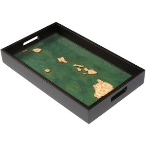 Hawaiian Islands Serving Tray