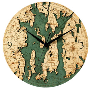 Narragansett Wall Clock