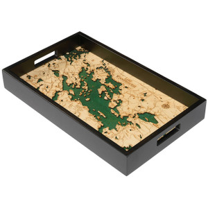 Lake Winnipesaukee Serving Tray