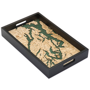 Puget Sound Serving Tray