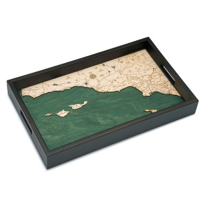 Santa Barbara/Channel Islands Serving Tray