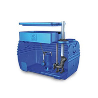 300L/Min 27m Lift Single Macerator Pump Zenit Blue Box w/ Controller