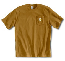 Carhartt Brown Pocket T-Shirt