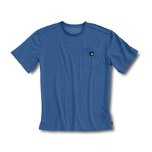 Carhartt Blue Short Sleeve Work-Dry T-Shirt