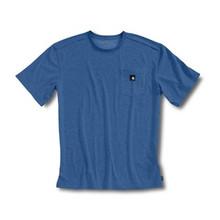Carhartt Blue Short Sleeve Work-Dry T-Shirt