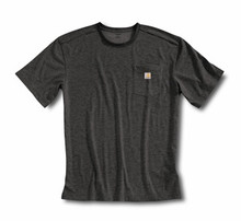 Carhartt Black Short Sleeve Work-Dry T-Shirt