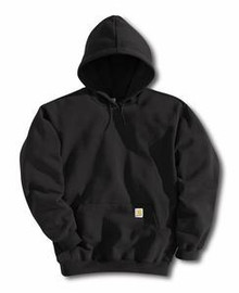 Carhartt Black Pullover Hooded Sweatshirt
