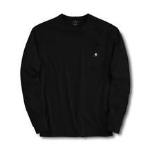 Carhartt Black Work-Dry Long-Sleeve T-Shirt
