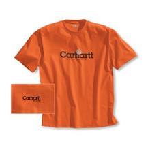 Carhartt Orange Logo T-Shirt