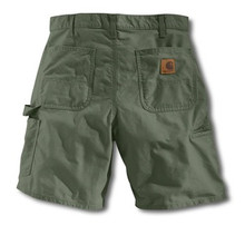 Carhartt Olive Work Shorts