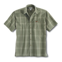 Carhartt Leaf Green Plaid Shirt