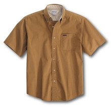 Carhartt Buckskin Brown Twill Shirt