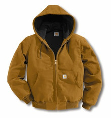 Carhartt Brown Duck Active Jacket -- Tall