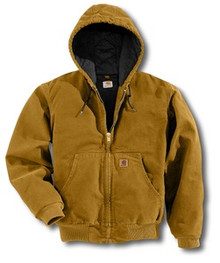 Carhartt Brown Sandstone Active Jacket -- Tall