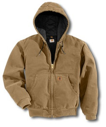 Carhartt Camel Brown Sandstone Active Jacket -- Tall